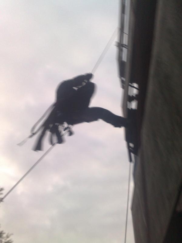 Prohlížíte si fotogarerii k článku Výcvik na lezckém trenažéru Jakub